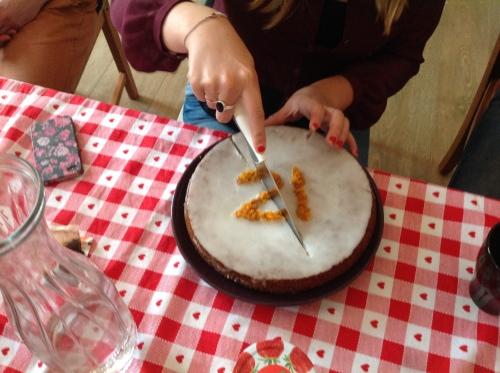 jaja glutenvrije carrotcake. <3 simon